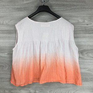 Free People Tops - Free People Little Bit of Something Ombre Blouse